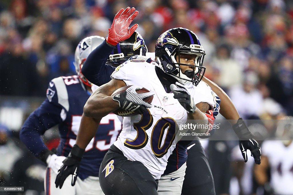 Baltimore Ravens v New England Patriots : News Photo