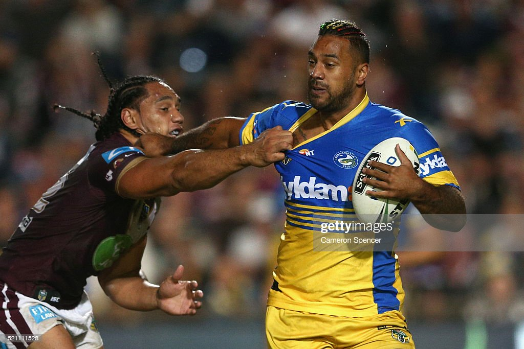 NRL Rd 7 - Sea Eagles v Eels