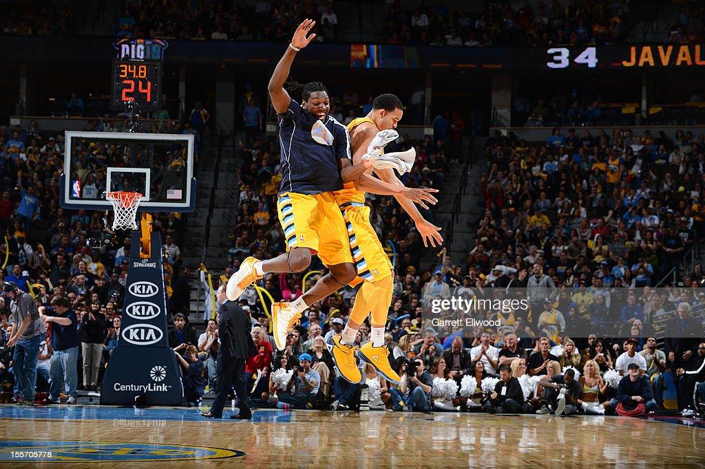 Detroit Pistons v Denver Nuggets : News Photo