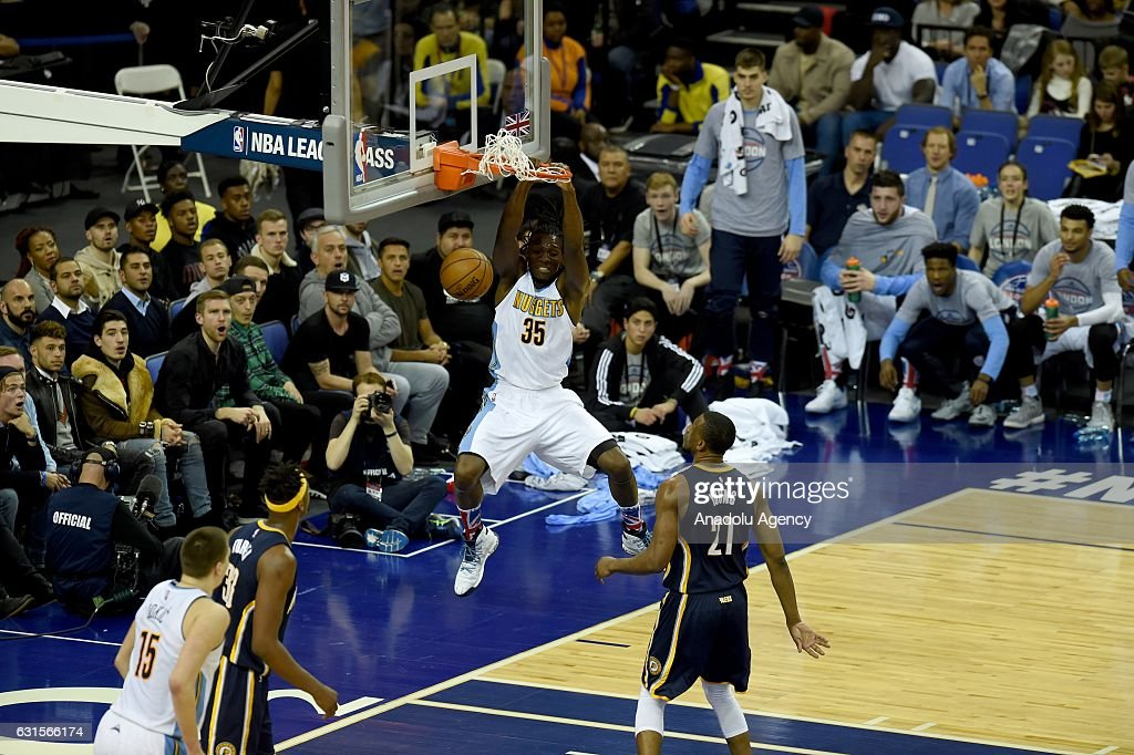 Denver Nuggets v Indiana Pacers : News Photo