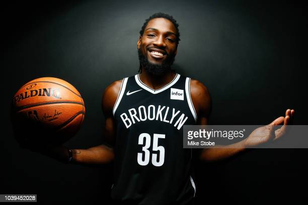 Kenneth Faried of the Brooklyn Nets poses for a portrait during Media Day at the HSS Training Facility on September 24 2018 in New York City NOTE TO...