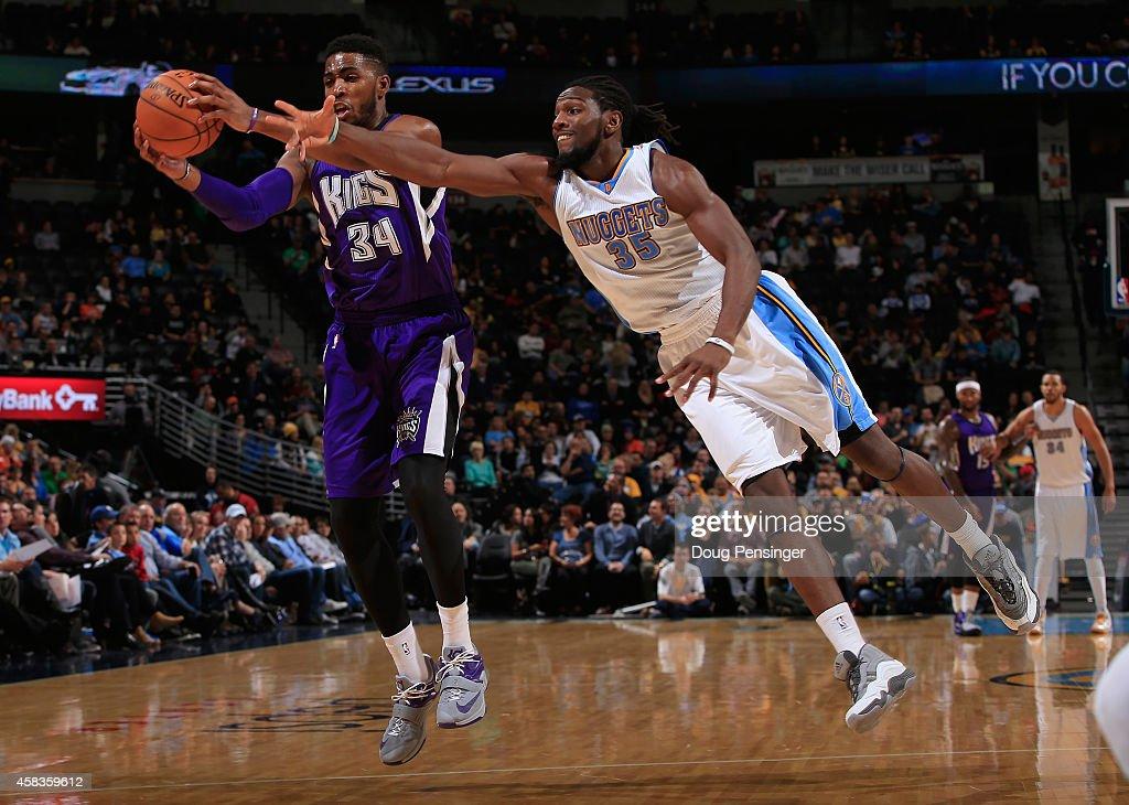 Sacramento Kings v Denver Nuggets