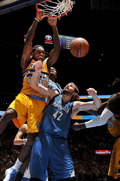 Kenneth Faried of the Denver Nuggets