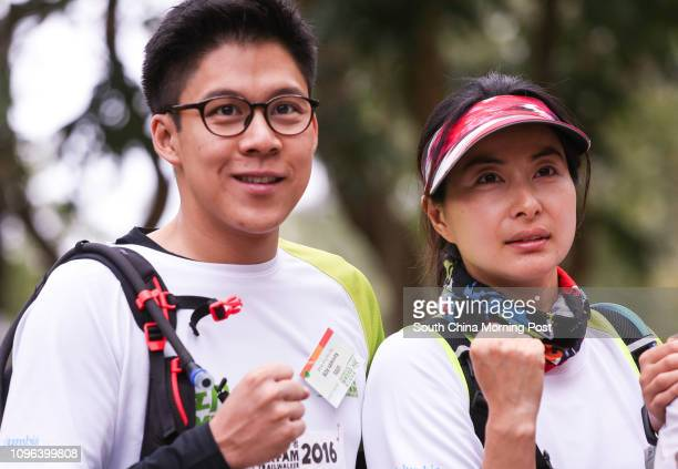Kenneth Fok Kai-kong and Guo Jingjing attend OXFAM Trailwalker 2016 in Sai Kung. 18NOV16 SCMP/Dickson Lee