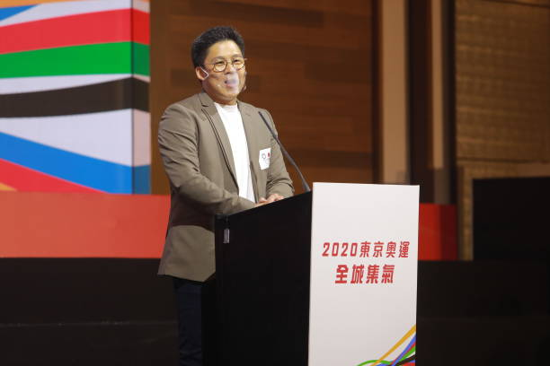 CHN: Kenneth Fok Attends Press Conference For Tokyo 2020 Olympics