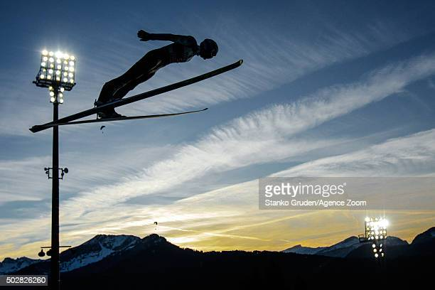Kenneth Gangnes of Norway competes during the FIS Nordic World Cup Four Hills Tournament on December 29 2015 in Oberstdorf Germany
