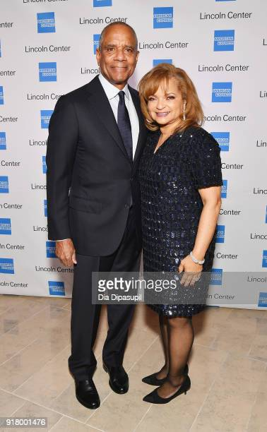 Kenneth I Chenault and Kathryn Chenault attend the Winter Gala at Lincoln Center at Alice Tully Hall on February 13 2018 in New York City