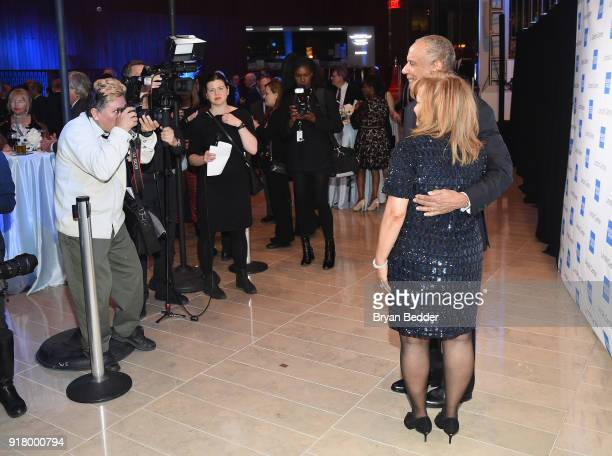 Kenneth I Chenault and Kathryn Chenault attends the Winter Gala at Lincoln Center at Alice Tully Hall on February 13 2018 in New York City