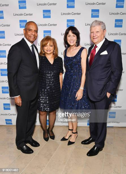 Kenneth I Chenault Kathryn Chenault Katherine Farley and Jerry Speyer attends the Winter Gala at Lincoln Center at Alice Tully Hall on February 13...