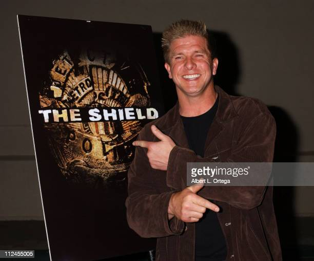 """Kenneth Johnson during """"The Shield"""": Season Three Premiere Screening at The Zanuck Theater in West Los Angeles, California, United States."""