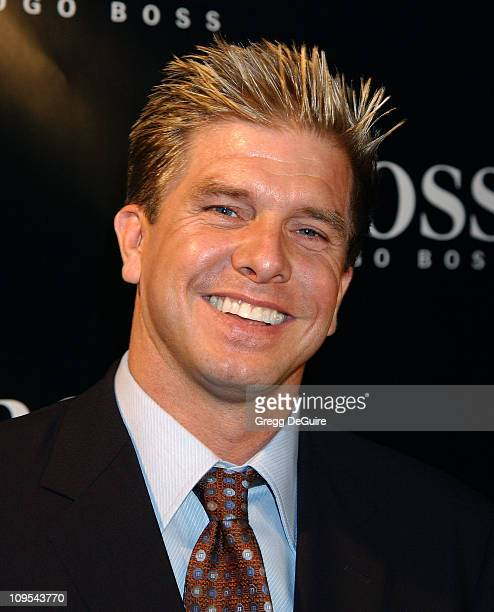 """Kenneth Johnson of """"The Shield"""" during Hugo Boss Celebrates The Re-Opening Of Their Rodeo Drive Store at Hugo Boss Store in Beverly Hills,..."""