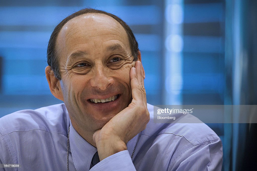Kenneth 'Ken' Jacobs, chief executive officer of Lazard Ltd., smiles during an interview in New York, U.S., on Wednesday, March 27, 2013. Lazard Ltd. provides domestic and international financial advisory services including mergers and acquisitions, capital markets execution, asset management, and real estate investment banking. Photographer: Michael Nagle/Bloomberg via Getty Images