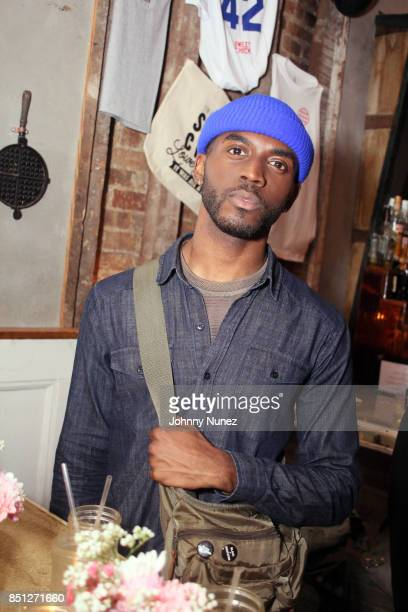 Kenneth Kyrell attends the Rapsody Laila's Wisdom Album Release Party at Sweet Chick on September 21 2017 in New York City