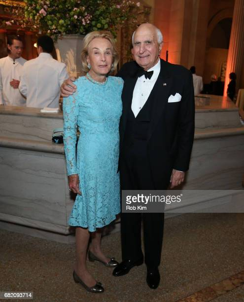 Kenneth Langone and Elaine Langone attend NYU Langone Medical Center's 2017 Violet Ball at The Metropolitan Museum of Art on May 11 2017 in New York...