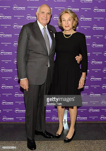 Kenneth Langone and Elaine Langone attend NYU Langone Musculoskeletal Ball 2015 on November 3 2015 in New York City