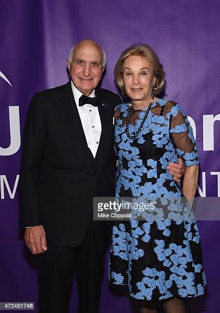 Kenneth Langone and Elaine Langone attend the NYU Langone Medical Center's 2015 Violet Ball on May 7 2015 in New York City