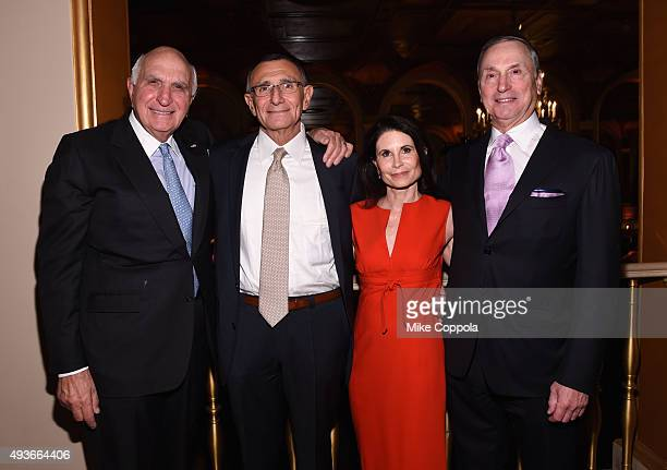 Kenneth Langone Dr Hersch Leon Pachter Lori Fink and Robert I Grossman attend NYU Langone Medical Center's Perlmutter Cancer Center Gala at The Plaza...