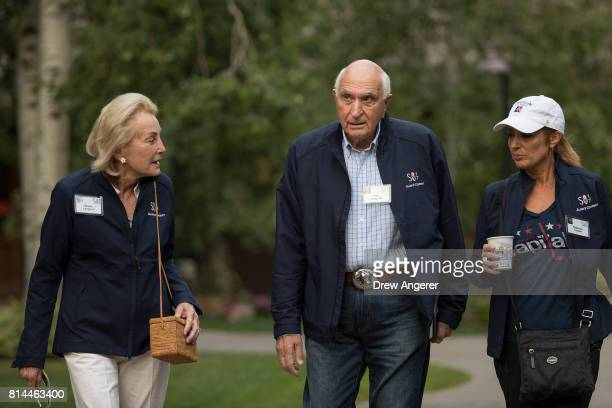 Kenneth Langone founder of Home Depot attends the fourth day of the annual Allen Company Sun Valley Conference July 14 2017 in Sun Valley Idaho Every...