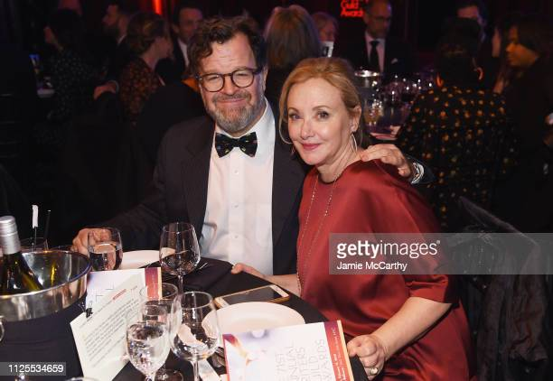 Kenneth Lonergan and J SmithCameron attend the 71st Annual Writers Guild Awards New York ceremony at Edison Ballroom on February 17 2019 in New York...
