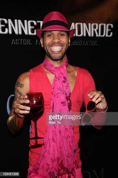 Kenneth Monroe attends cougar style soiree hosted by Cougar Town star Carolyn Hennesy at Hotel Palomar on August 18 2010 in Los Angeles California