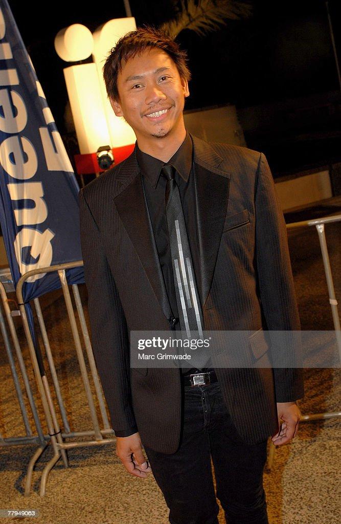 kenneth moreleda arrives at the inside film awards at the crown