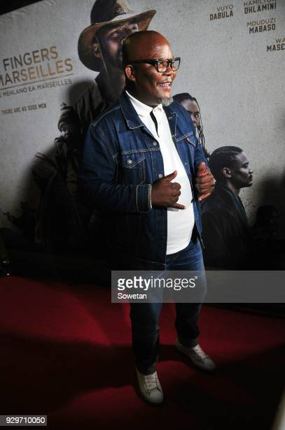 Kenneth Nkosi during Five Fingers for Marseilles movie premiere at the Market Theatre on March 08 2018 in Johannesburg South Africa After its world...