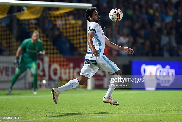 Kenneth Saief midfielder of KAA Gent pictured during Croky cup 1/16 F match between KSK Lierse and KAA Gent on september 21, 2016 in Lier, Belgium