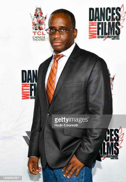 """Kenneth Shaw attends the Closing Night of Dances with Film Festival with premiere of """"Mister Sister"""" at TCL Chinese Theatre on September 12, 2021 in..."""
