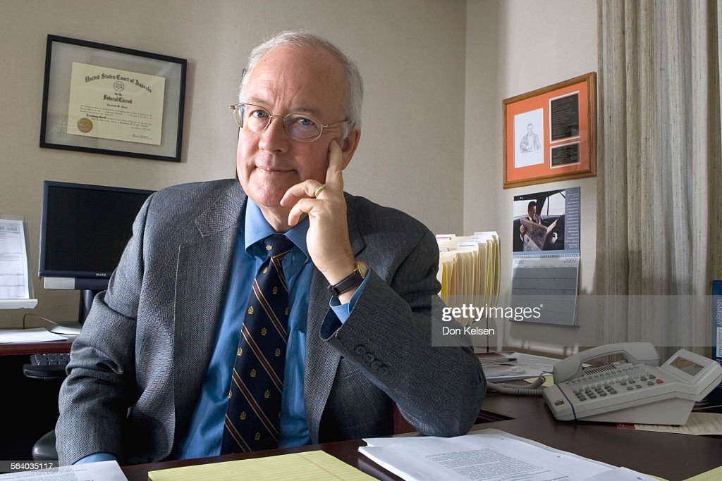 (Malibu) – Kenneth Starr is the dean of the Pepperdine Law School and is one of the subjects in Jim : News Photo