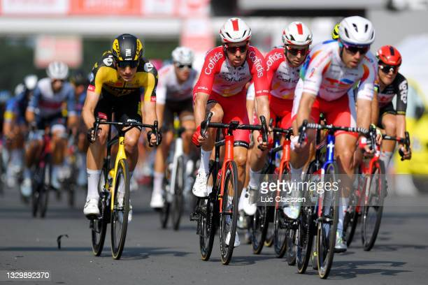 Kenneth Vanbilsen of Belgium and Team Cofidis during the 42nd Tour de Wallonie 2021 - Stage 2 a 120km stage from Zolder Circuit to Zolder Circuit /...