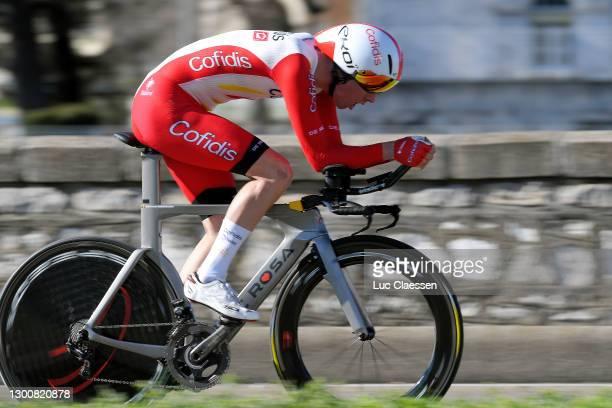 Kenneth Vanbilsen of Belgium and Team Cofidis, Solutions Credits during the 51st Étoile de Bessèges - Tour du Gard 2021, Stage 5 a 10,71km Individual...