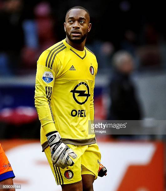 Kenneth Vermeer after 21 loss against Ajax during the Dutch Eredivisie match between Ajax Amsterdam and Feyenoord Rotterdam at the Amsterdam Arena on...