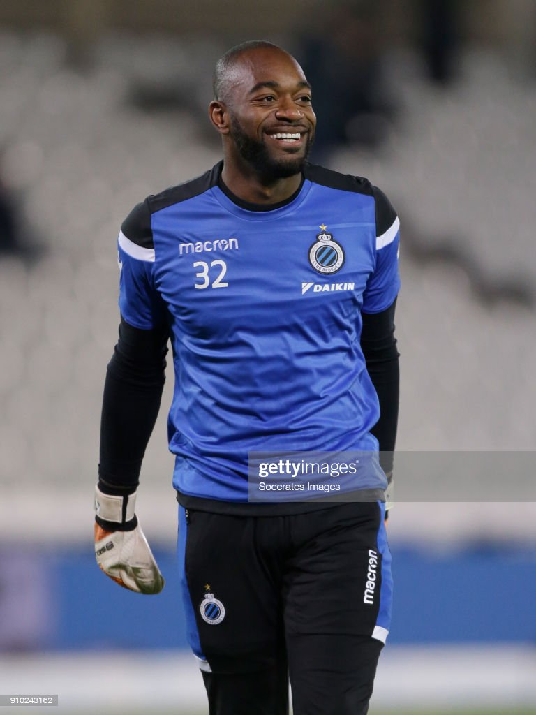Kenneth Vermeer of Club Brugge during the Belgium Pro League match between Club Brugge v KV Oostende at the Jan Breydel Stadium on January 25, 2018 in Brugge Belgium
