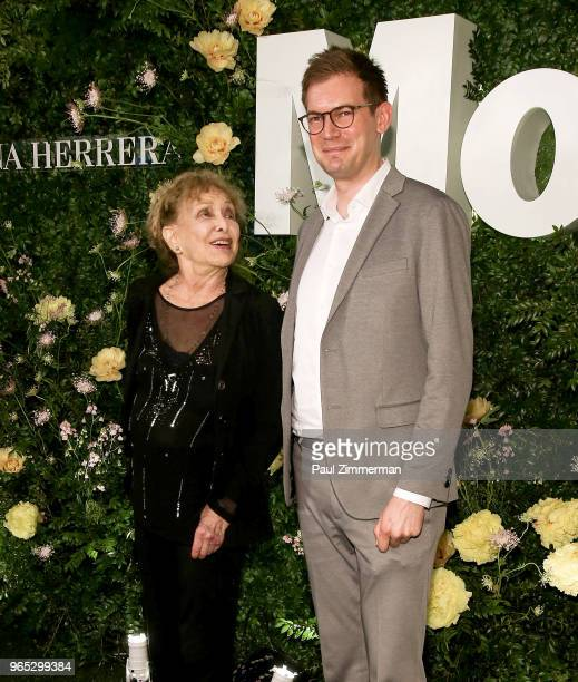 Kenneth White and Carolee Schneemann attend the 2018 MoMA Party In The Garden at Museum of Modern Art on May 31 2018 in New York City
