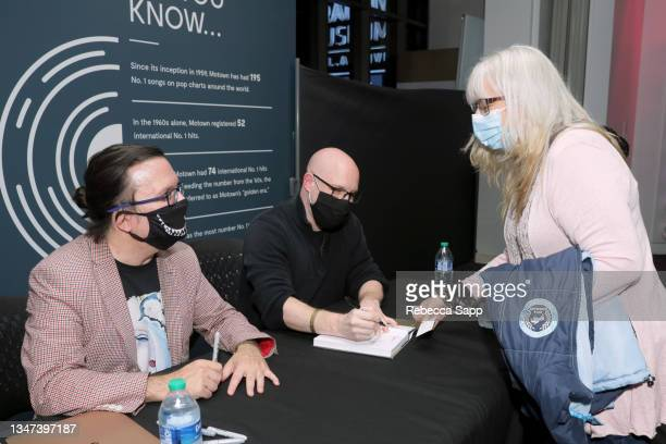 Kenneth Womack and Jason Kruppa sign their book at All Things Must Pass Away: Harrison, Clapton, and Other Assorted Love Songs at The GRAMMY Museum...
