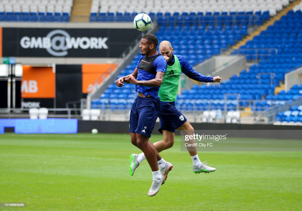 Cardiff City Training Session