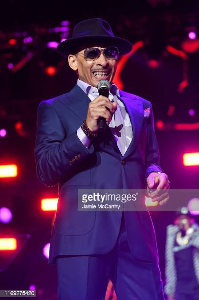 Kenni Burke performing onstage at STARZ Madison Square Garden Power Season 6 Red Carpet Premiere Concert and Party on August 20 2019 in New York City