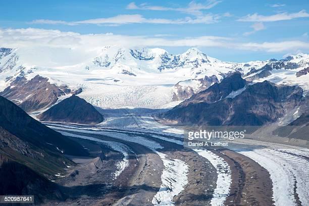 Kennicott Glacier at Wrangell-St.Elias