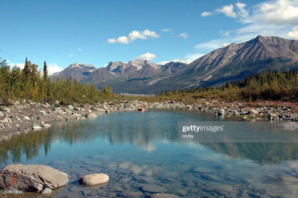 Kennicott River In Wrangellst Elias National Park Mccarthy Alaska Stock Foto Getty Images