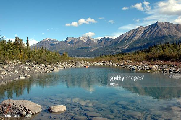 Kennicott River in Wrangell  St Elias National Park,McCarthy,Alaska.