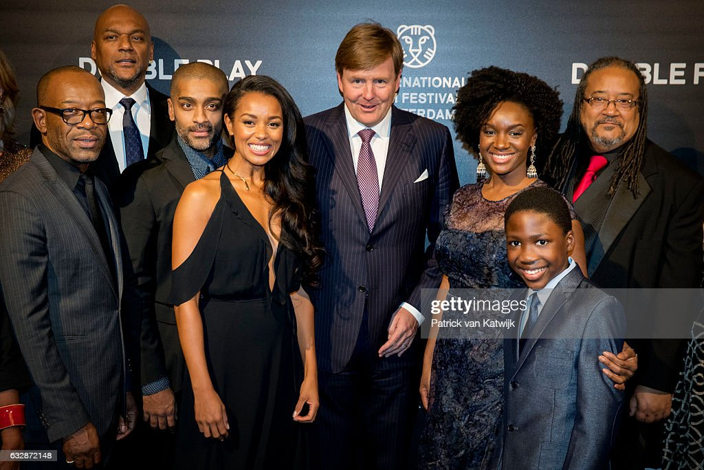 King Willem-Alexander Attends the Double Play Premiere at Rotterdam Film Festival