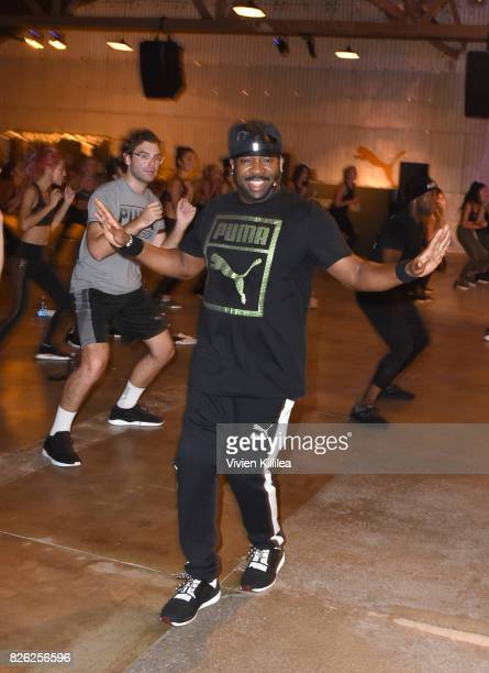 Kennis Marquis attends PUMA Hosts CAMP PUMA To Launch Their Newest Women's Collection Velvet Rope at Goya Studios on August 3 2017 in Los Angeles...