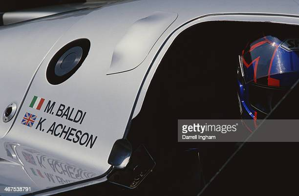 Kenny Acheson of Great Britain sits aboard the Team Sauber Mercedes Sauber C9/88Mercedes during the FIA World Sportscar Prototype Championship 1000...