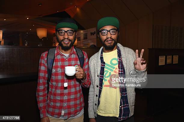 Kenny and Keith Lucas attend the Turner Upfront 2015 at Madison Square Garden on May 13 2015 in New York City JPG