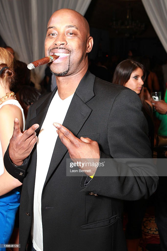 Kenny Anderson attends 10th Annual Kenny The Jet Smith NBA All-Star Bash, hosted by Mary J. Blige on February 24, 2012 in Orlando, Florida.