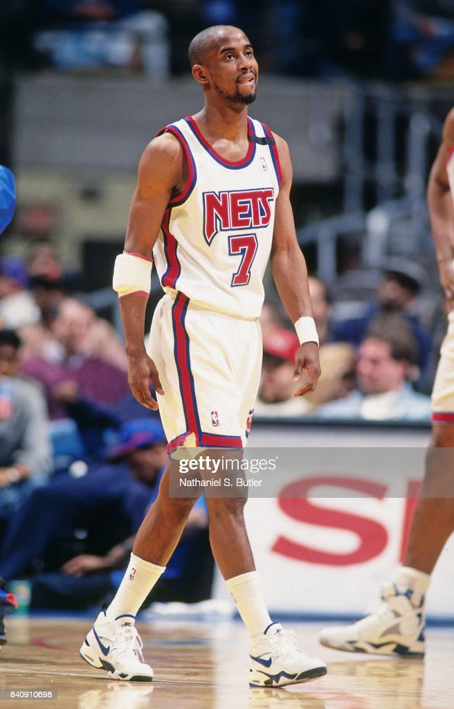 d46d18208c5b Kenny Anderson of the New Jersey Nets walks circa 1994 at the ...