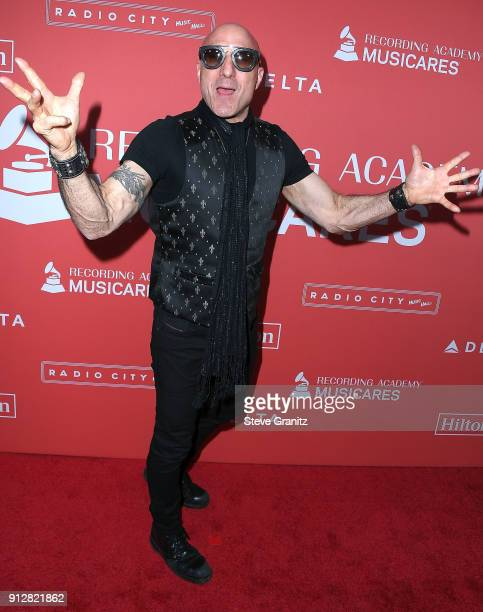 Kenny Aronoff arrives at the 60th Annual GRAMMY Awards MusiCares Person Of The Year Honoring Fleetwood Mac on January 26 2018 in New York City
