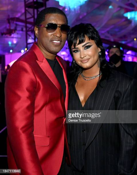 Kenny 'Babyface' Edmonds and Demi Lovato attend the 25th annual Keep Memory Alive 'Power of Love Gala' benefit for the Cleveland Clinic Lou Ruvo...
