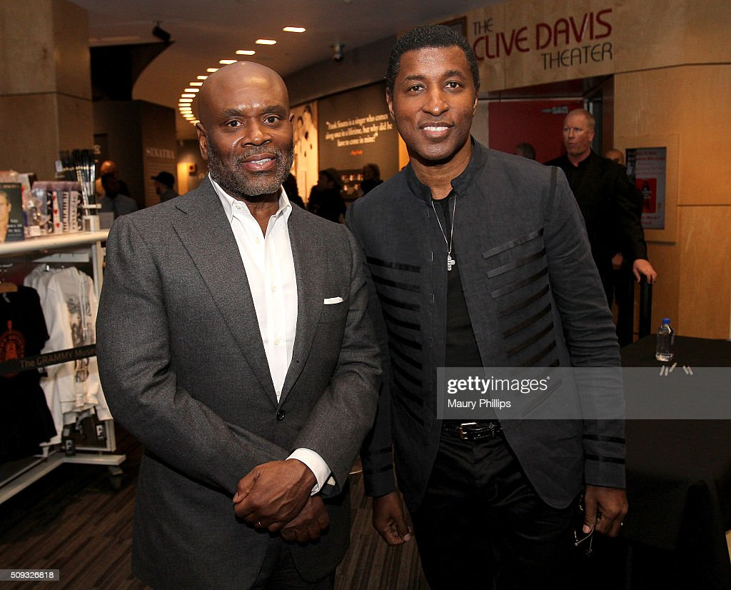Kenny 'Babyface' Edmonds and L.A. Reid attend Icons of the Music Industry: L.A. Reid at The GRAMMY Museum on February 9, 2016 in Los Angeles, California.