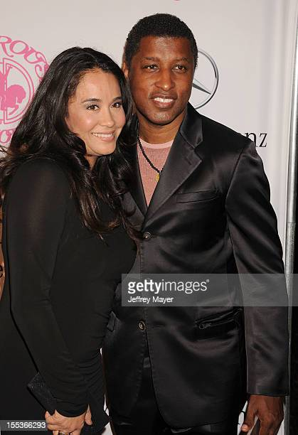 Kenny Babyface Edmonds and Nicole Pantenburg arrive at the 26th Anniversary Carousel Of Hope Ball presented by MercedesBenz at The Beverly Hilton...